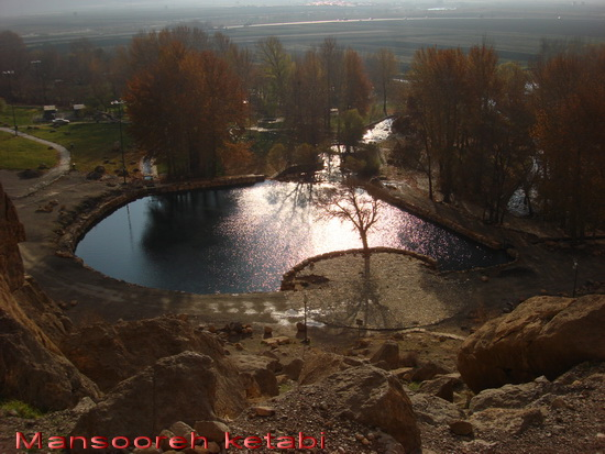 چشمه طبيعي بيستون